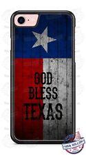 Texas Flag God Bless Texas Customize Phone Case Cover For iPhone Samsung LG etc