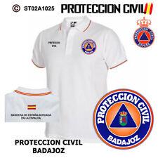 POLOS PROTECCION CIVIL Y EMERGENCIAS: BADAJOZ