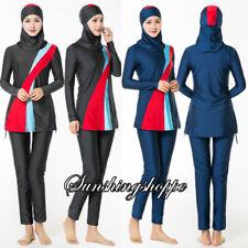 Modest Women's Full Body Swimsuit Swimwear Burkini Islamic Muslim Beach Clothes