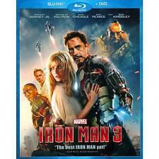Iron Man 3 (BluRay MOVIE) BRAND NEW