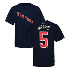 NHL Eishockey T-Shirt NEW YORK NY RANGERS Dan Girardi 5 navy Fanshirt