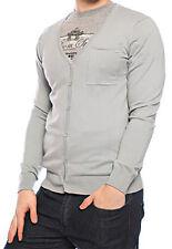 VOLCOM Windmug grey cardigan man uomo grigio taglia L cod. A0731107 _