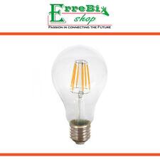 LAMPADINA A FILAMENTO LED E27 A67 8W 2700K 6400K LUCE LAMPADA ALTA LUMINOSITÀ