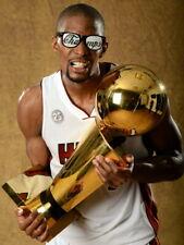 Chris Bosh Miami Heat Championship Trophy Basketball Giant Wall Print POSTER
