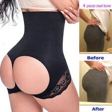 Women's Tummy Control Booty Butt Lifter Enhancer Bum Body Shaper Girdle Panty UK