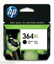 HP N. 364XL nero ad alta capacità ORIGINAL OEM CARTUCCIA INKJET CN684EE PHOTOSMART