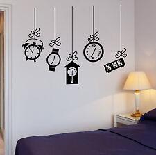 Vinyl Wall Decal Alarm Clock Bedroom Decoration Dream Stickers (220ig)