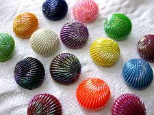 10  Knöpfe,Jackenknöpfe,,Farbe wählbar,bunt schimmernd, ca.20mm ,  K25.1