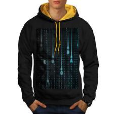 Matrix Number Chart Men Contrast Hoodie S-2XL NEW | Wellcoda