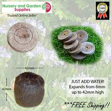Jiffy 7 peat pellet 42mm various qtys - propagation seed raising plant cutting