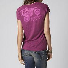 Fox Racing Fox Girl Drive s/s Top Shirt Bordeaux