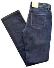 MAC Jeans ANGELA Blue Denim Stretch dunkel blau Slim Fit   NEU