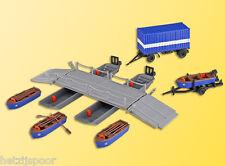 KIBRI HO 38135 (8135): THW-ponton met werkbrug