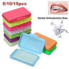 5/10/15 PCS Scent Dental Orthodontics Wax Dental Care Teeth Protective Wax