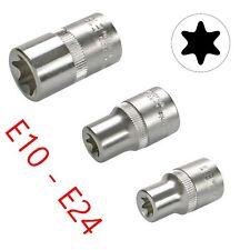 Vaso e10-e24 1/2 - pulgadas para TORX perfil nuez llave vaso-a elección -