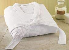 Mayfair Hotel Quality Waffle Bathrobe 100% Egyptian Cotton Dress Gown