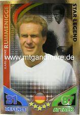Match Attax World Stars Legends - Karl-Heinz Rummenigge