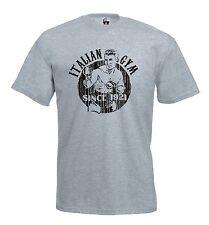 Maglia Italian Gym P24 Arti Marziali Pugilato Kick Boxing T-shirt Boxe Full
