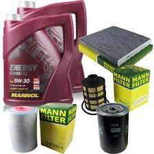 cambio aceite Kit 10l Mannol Energía Combi LL 5w-30 + Mann Filtro de Servicio