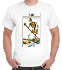 Tarjeta De La Muerte Camiseta oculta pagano adivina suerte