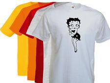 T-shirt Betty BOOP, cartoon, dessin animé,vintage S/M/L/XL, NEUF, NEW