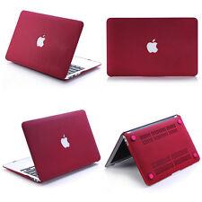 Quicksand Wine Red Matte Hard Case Cover For Macbook Air Pro 11 13 '' Retina
