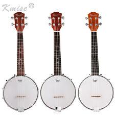 4 String  Banjo Ukulele Concert 23 Inch Size Sapele Musical Instrument for Gift