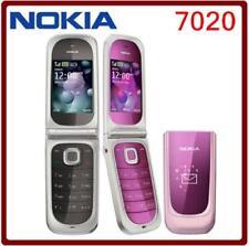 Original Nokia Fold 7020 Flip Big Bottom Cell Phone 2G GSM 850 900 1800 1900
