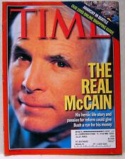 Vintage TIME Magazine Dec December 13 1999 12/13/99 McCain/Disney V154#24 RARE