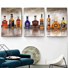 Jack Daniels Whisky Bar & Club Bild auf Leinwand Abstrakt Wandbild XXL 1365A