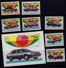 MALAGASY SCOTT#1106-1113 MNH AUTO'S/TOYOTA, BMW, ETC.
