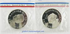 MONACO  ,  RAINIER  III  , 100  FRANCS  ARGENT  1974  , RARE ET  FLEUR  DE  COIN
