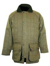 Bronte Mens Derby Tweed Shooting Jacket Coat Waterproof Jacket  Free Post