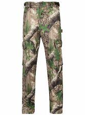 Men's Impermeabile Trek Camouflage Mimetico Pantaloni Pantalone Caccia Pesca TIRO