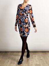 NEW ALICE TEMPERLEY Somerset BLACK Floral Print Pocket Dress 8-18 RRP £130 70156fbf9