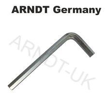 ARNDT Hex Allen Key ZINC PLATED CrV Steel Alan Alen Hexagonal Keys 911-C GERMANY