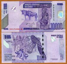 Congo D. R., 10000 (10,000) Francs, 2006 (2012), P-New, UNC