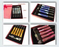Blingustyle DIAMANTE PROFESSIONAL COSMETIC Face Foundation Makeup Brush Set 5PCS