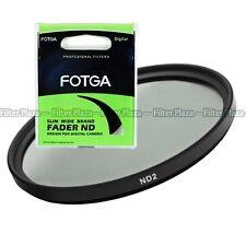 Fotga Neutral Density ND2 ND 2 Lens filter For Canon Nikon Sony Panasonic DSLR