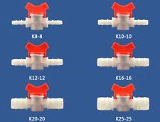 10 Pcs Vacuum Resin Infusion Valve Hoses Fiberglass Bagging Watering Connector