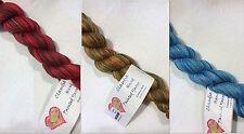 Claudia Hand Painted Yarns 100% Cotton Ball Yarn Loom Knit Crochet FS Offer