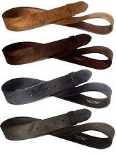 Vintage Ledergürtel Used Gürtel Wechselgürtel Buckles 4cm braun grau schwarz 4cm