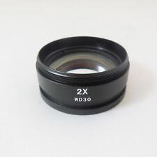 0.3X 0.5X 0.35X 0.75X 2X Auxiliary Lens Stereo Microscope Barlow Objective Lens