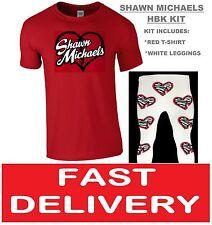 Shawn Hbk Michaels FANCY DRESS LUCHA LIBRE LUCHADOR Retro T-Shirt & Pants