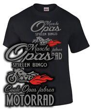 Grand-père T-shirt biker sort Cool-Père conduire moto tuning Cadeau Drôle