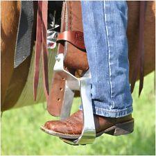 Cashel EZ Knees Horse Show Equitation Western Saddle Stirrup Turner Rotator PAIR