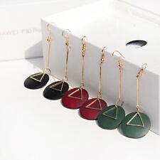 2019 Fashion Shell Earring Color Wood Drop Women Charm Dangle Earrings Jewelry