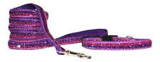 ROSA Y MORADO SPARKLE Raza Pequeña Collar para cachorro correas 2 Tamaños 1.3cm