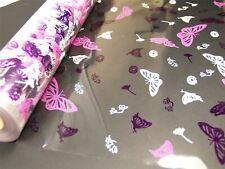 80cm Wide Butterfly Florist Cellophane Roll Film Christmas Hamper Gift Wrap