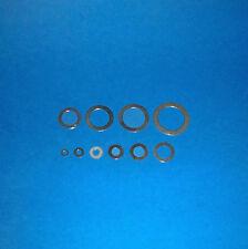 Passscheiben Abstandsscheiben 3 - 20 mm Welle, Stahl blank
